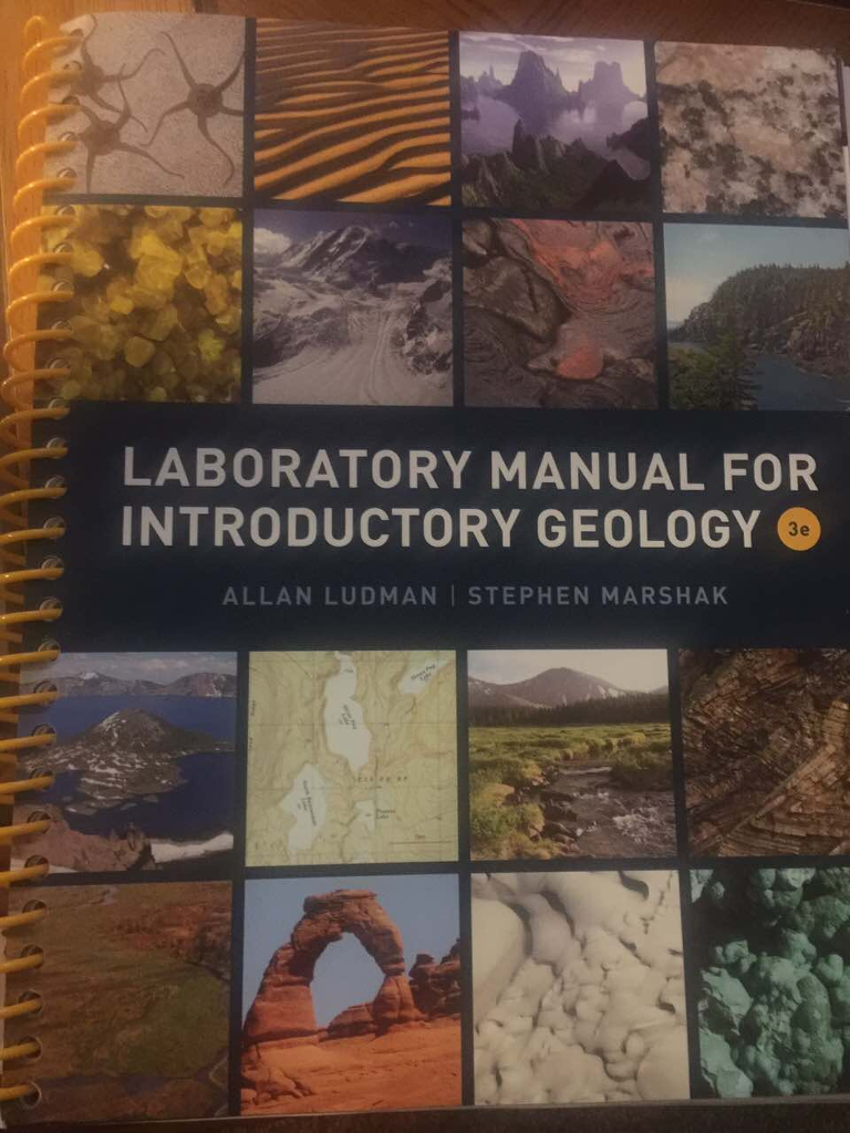 LABORATORY MANUAL FOR ALLAN LUDMAN I STEPHEN MARSH