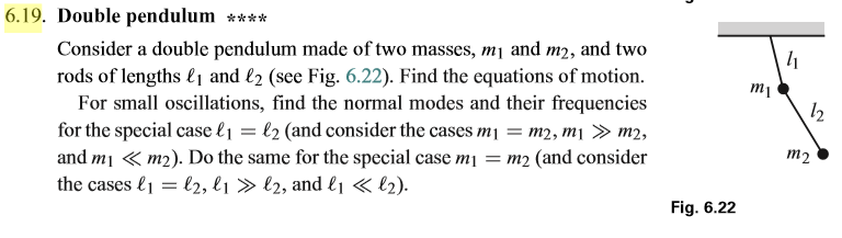 Solved: This Problem Is From Introduction To Classical Mec