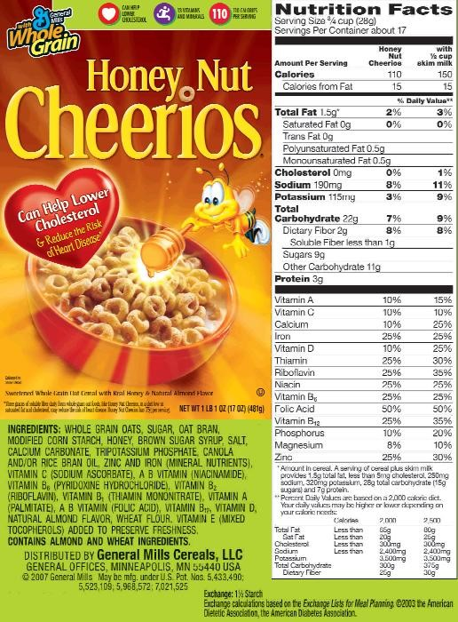 solved: understanding nutrition labels instructions: for t