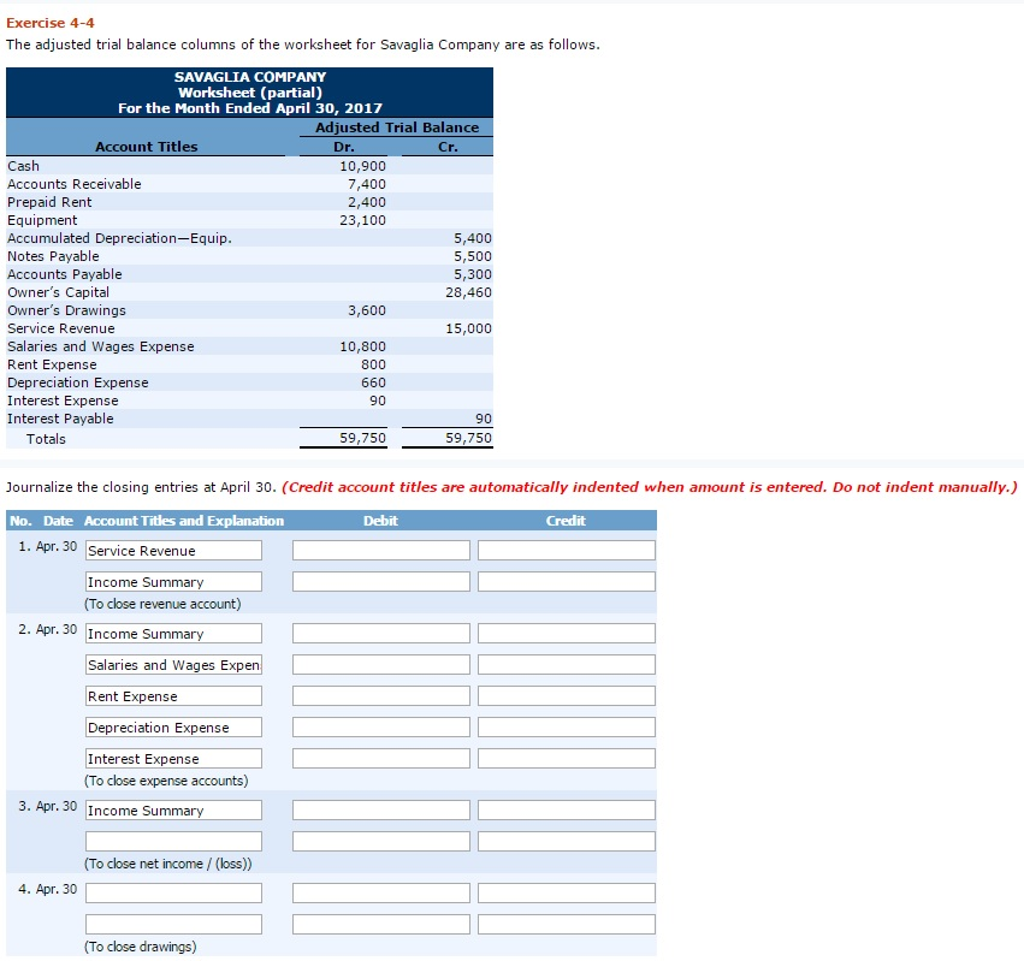 the adjusted trial balance columns of the worksheet for goode company are as follows complete the wo It works.