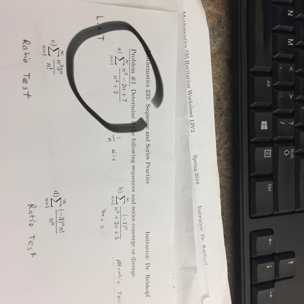Solved: Shift Alt E Ctrl Instructor: Dr Rehlenf Spring 201