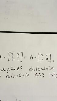 A=[235 801], B=[20 38], defined? Calculate