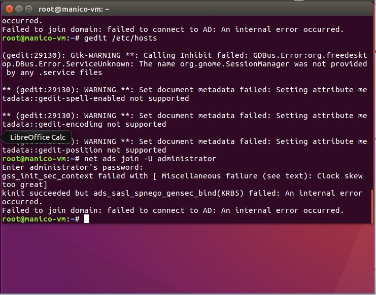 Solved: (Ubuntu Net Ads Join -U Administrator Not Working