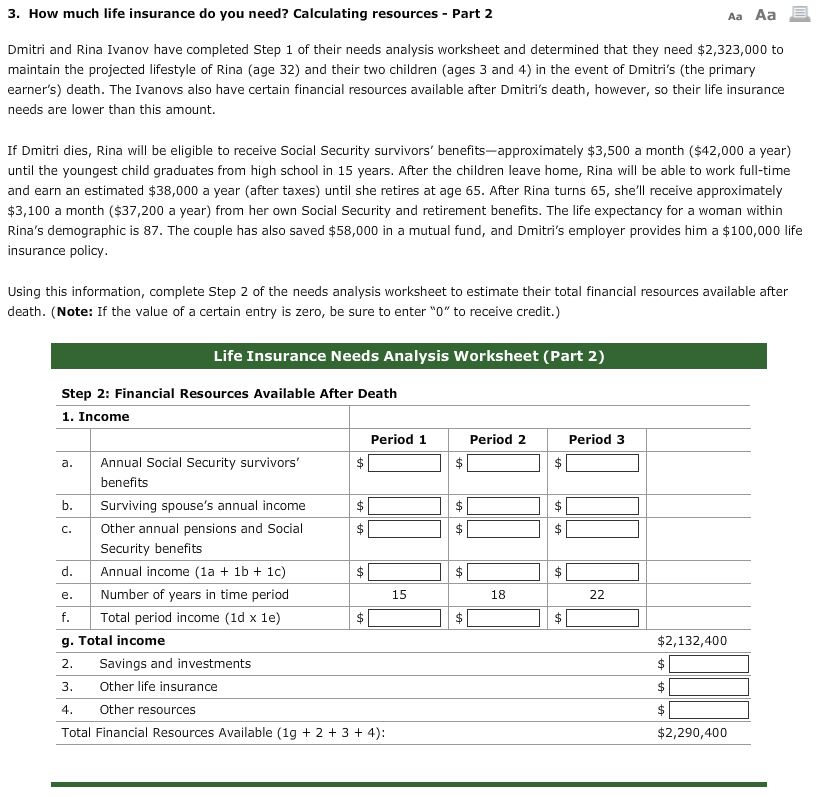 Finance Archive March 10 2017 – Aa Step 1 Worksheet