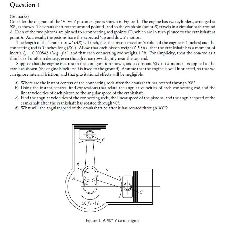 Solved: Question 1 (16 Marks) Consider The Diagram Of The ...