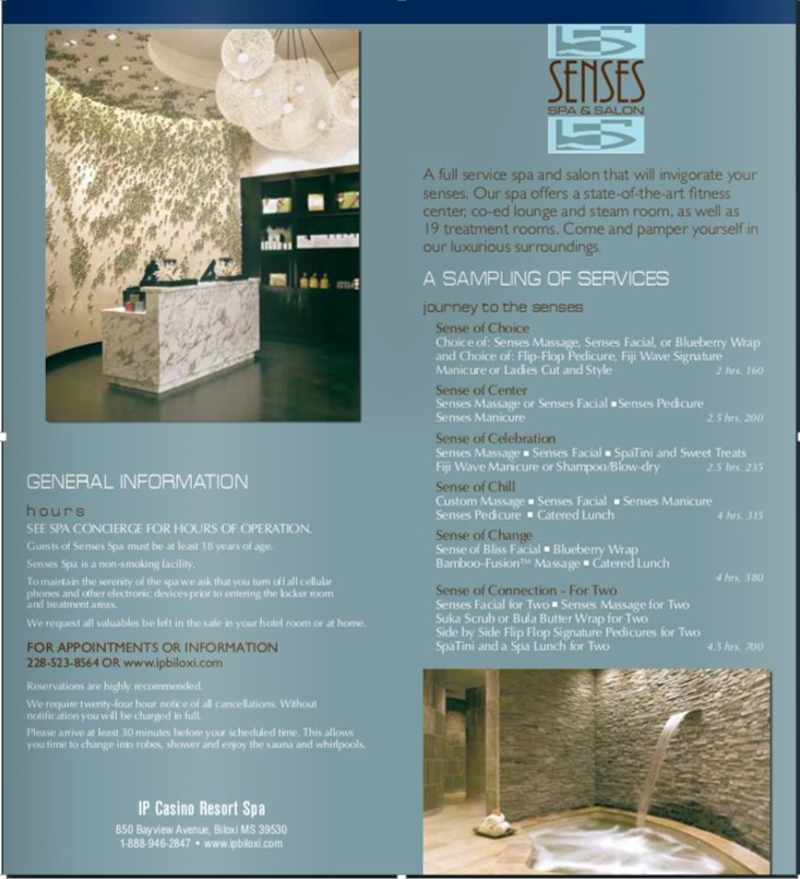 solved i have two examples of spa flyers pick one flyer