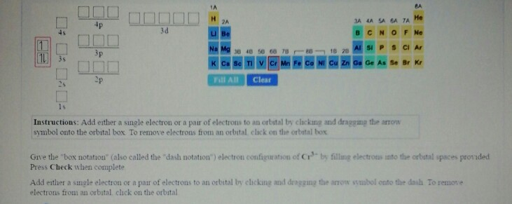 Instructions Add Either A Single Electron Or A Pa Chegg