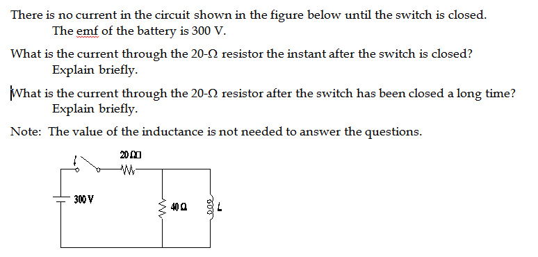 Solved: There Is No Current In The Circuit Shown In The Fi ...