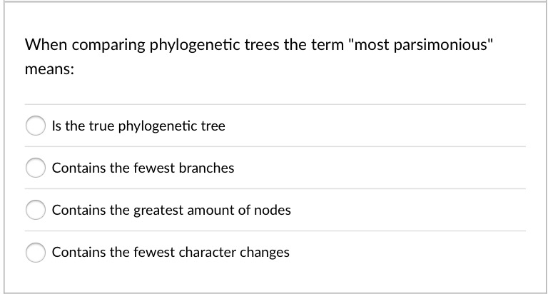 Solved In This Phylogeny The Presence Of The Amniotic Eg