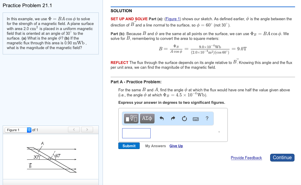 Physics archive november 04 2017 chegg practice problem 211 in this example we use cos to solve for fandeluxe Choice Image