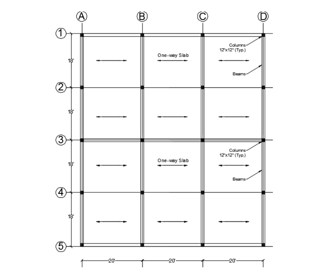 Solved Figure 1 Shows A Floor Plan Consisting Of A One Wa Chegg Com