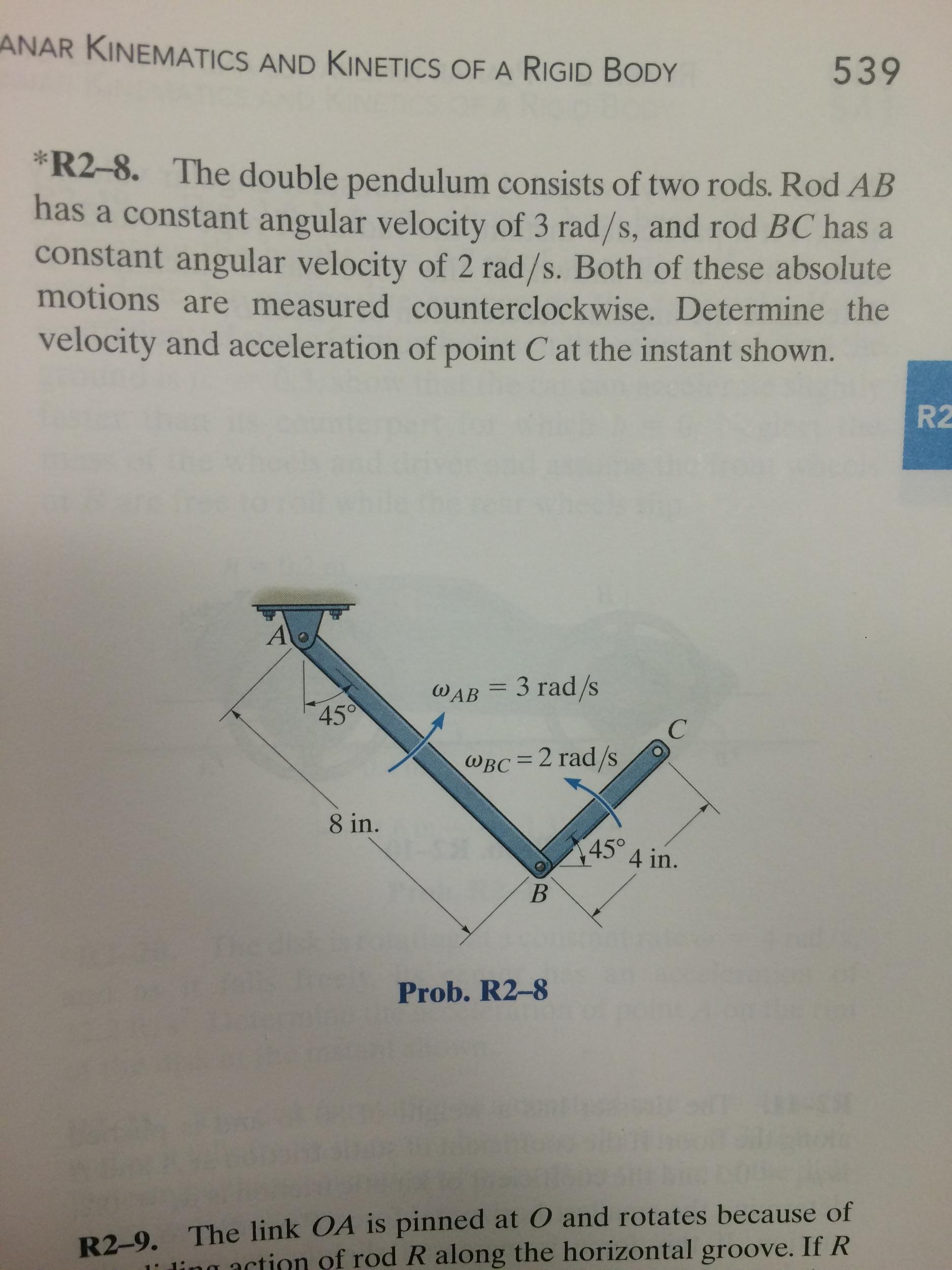 2 kinematics of a rigid body
