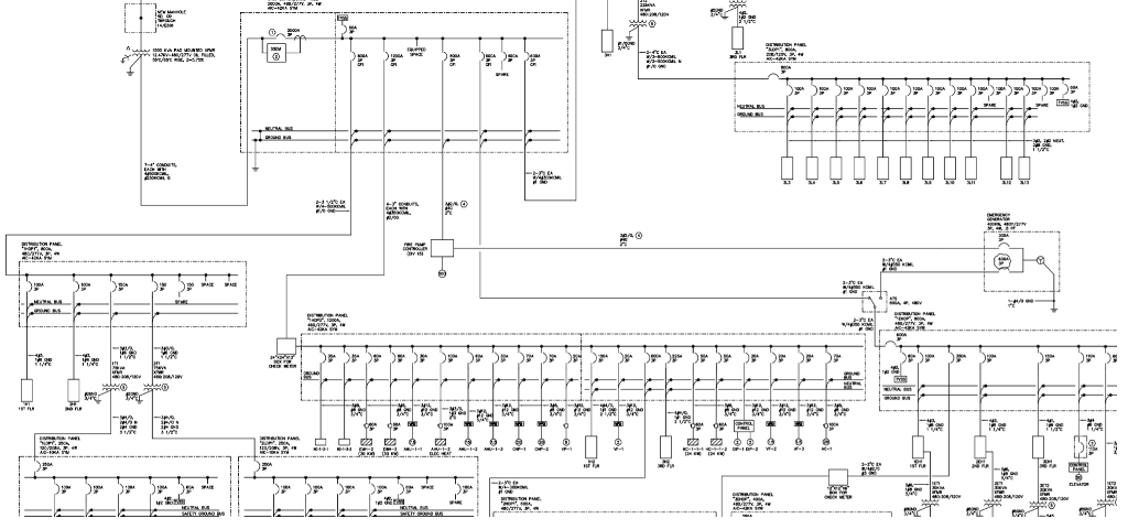 1  Identify On The Electrical One U2010line Diagram A