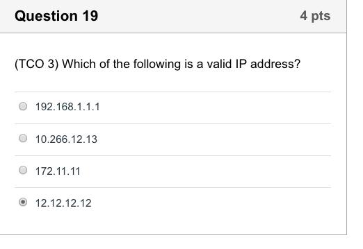 is 172 a valid ip address