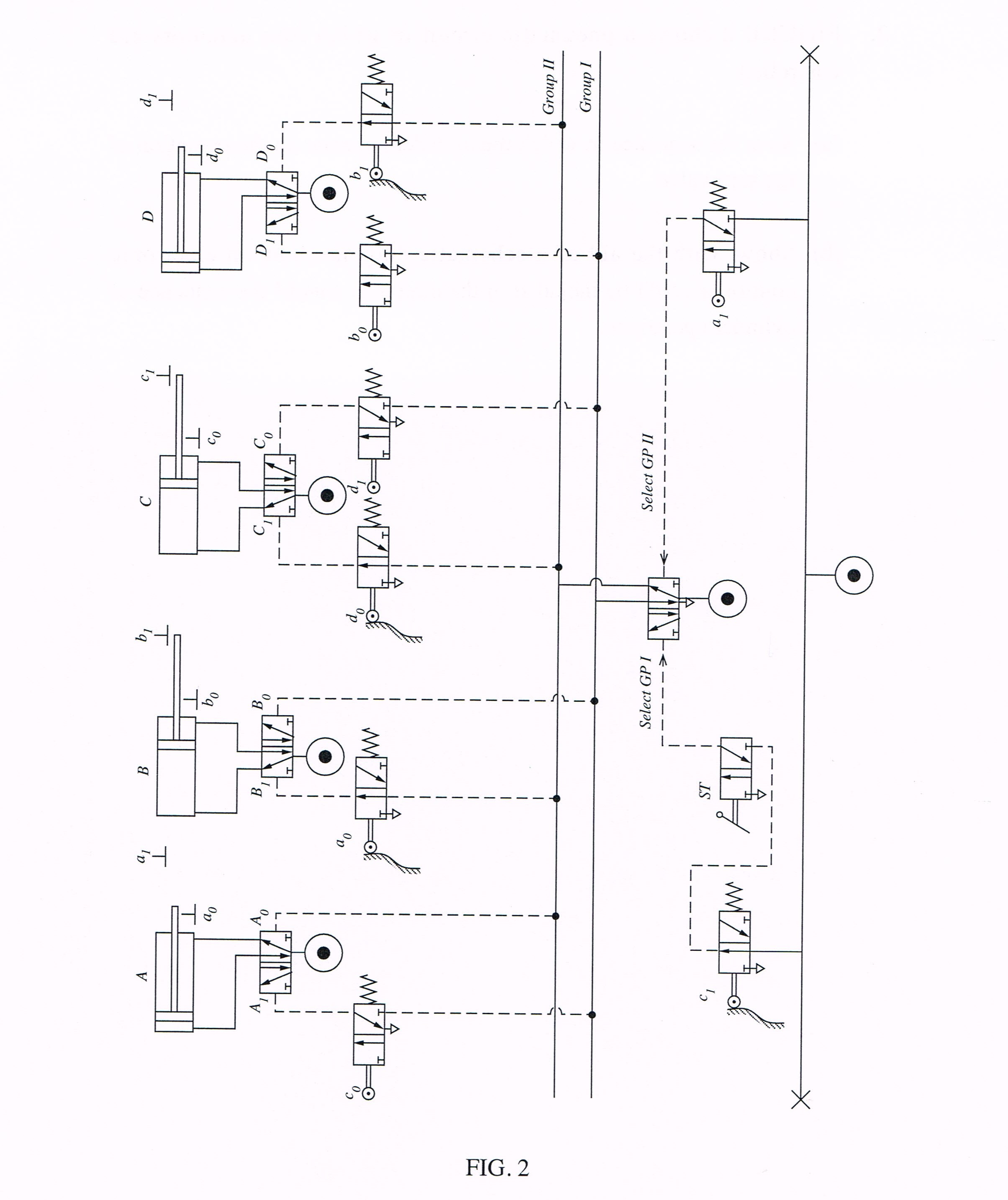 solved fig 2 shows a pneumatic circuit in which four act rh chegg com Pneumatic Diaphragm Valve Actuators Actuator Schematic Diagram