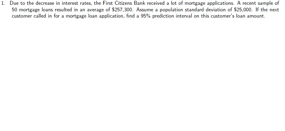 Solved: Due To The Decrease In Interest Rates, The First C