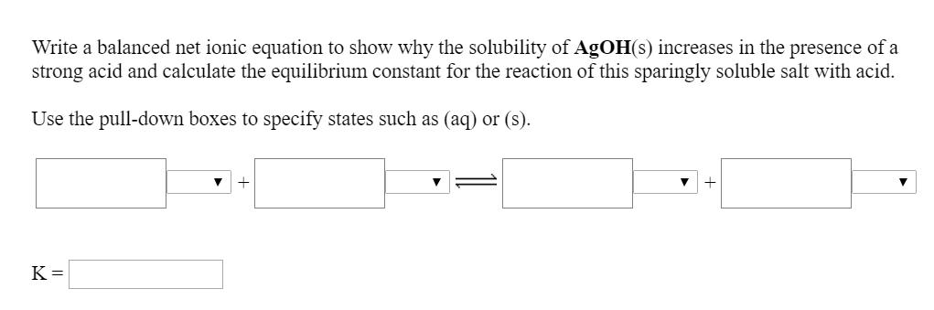 Ionic equations and net ionic equations calculator