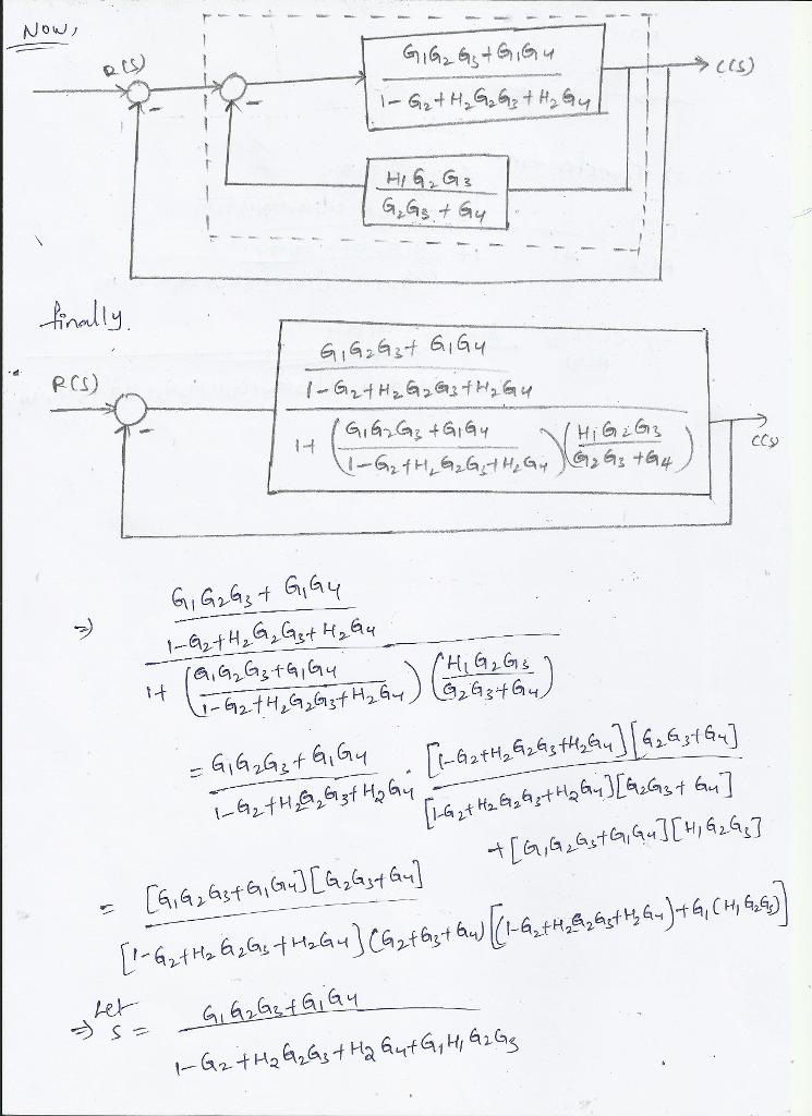 Solved Consider The Block Diagram Shown In Figure 2 Below