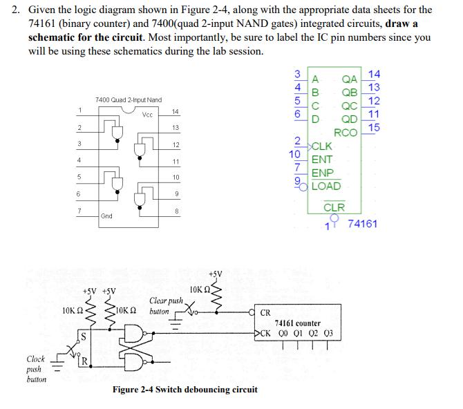 solved 2 given the logic diagram shown in figure 2 4, al Logic Flow Diagram