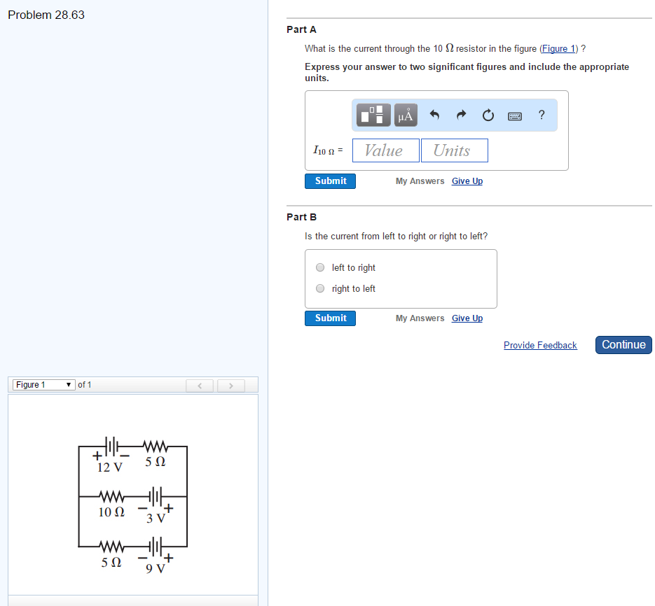 Solved: What Is The Current Through The 10 Ohm Resistor In ...