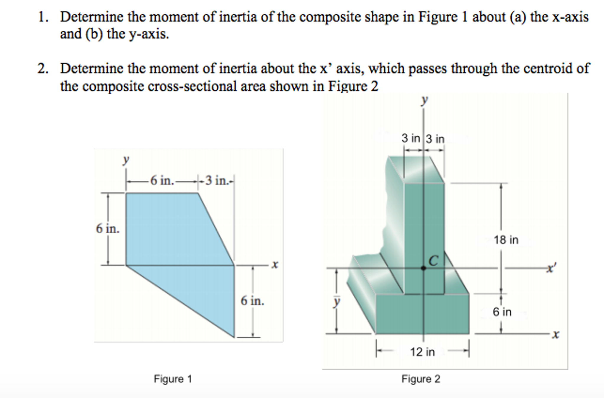 Solved: Determine The Moment Of Inertia Of The Composite S