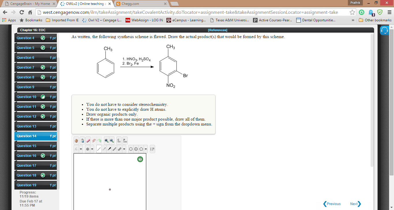 Solved: 14.As Written, The Following Synthesis Scheme Is F ...
