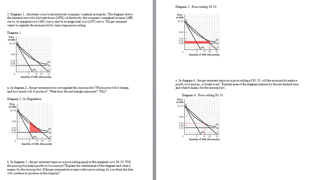 Solved 3 Diagram 1 Illustrates Your Local Electricity C