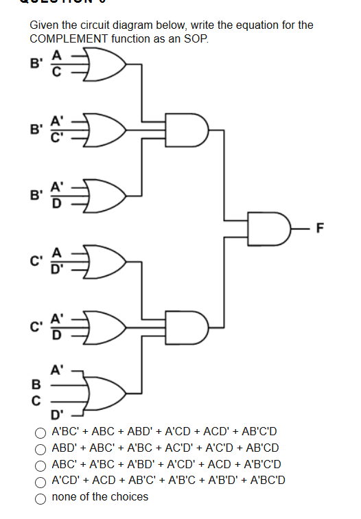 solved given the circuit diagram below write the equatio rh chegg com