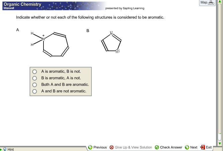 Chemistry archive march 12 2018 chegg organic chemistry map maxwell presented by sapling learning indicate whether or not each of the following fandeluxe Images