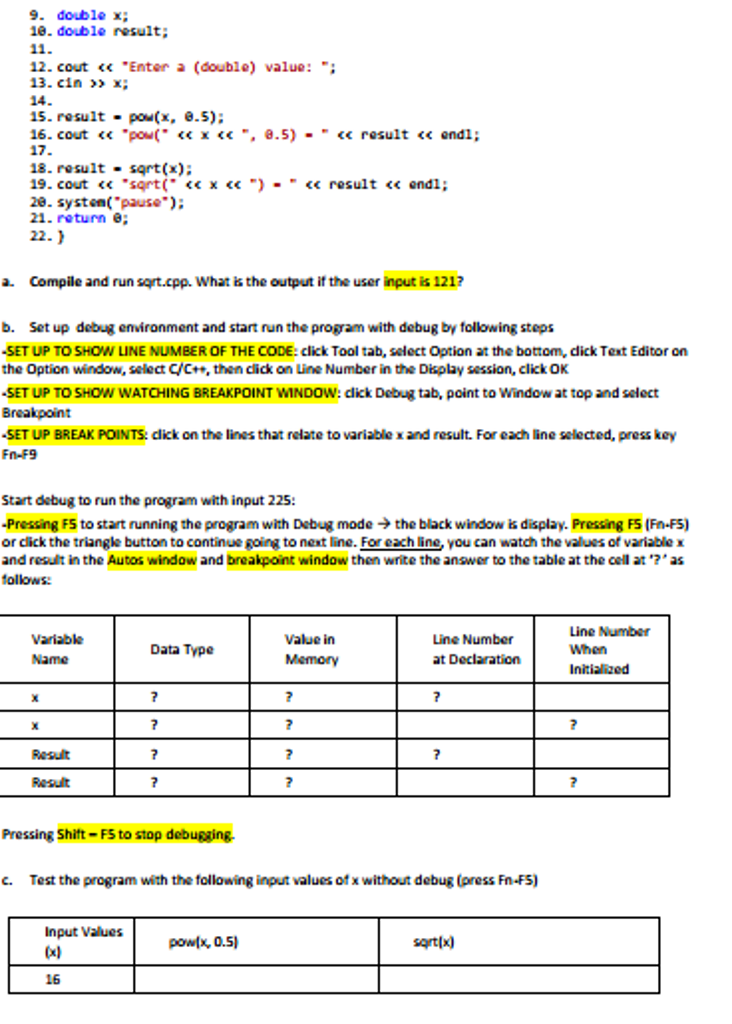 Solved: A  Visit Http://www cplusplus com/reference/clibra