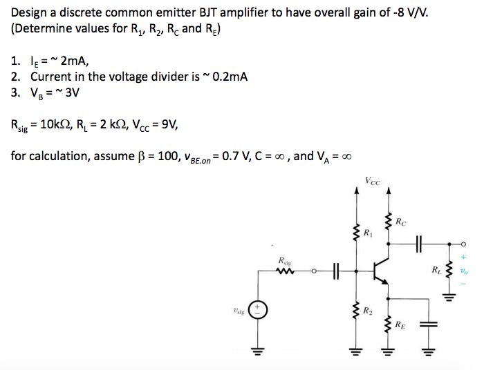 bjt common emitter amplifier How to calculate the output impedance of the bjt in a common collector amplifier how to calculate input and output impedance of bjt common-emitter amplifier.