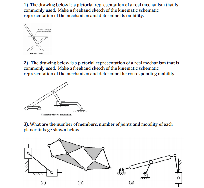 Solved: 1). The Drawing Below Is A Pictorial Representatio ...