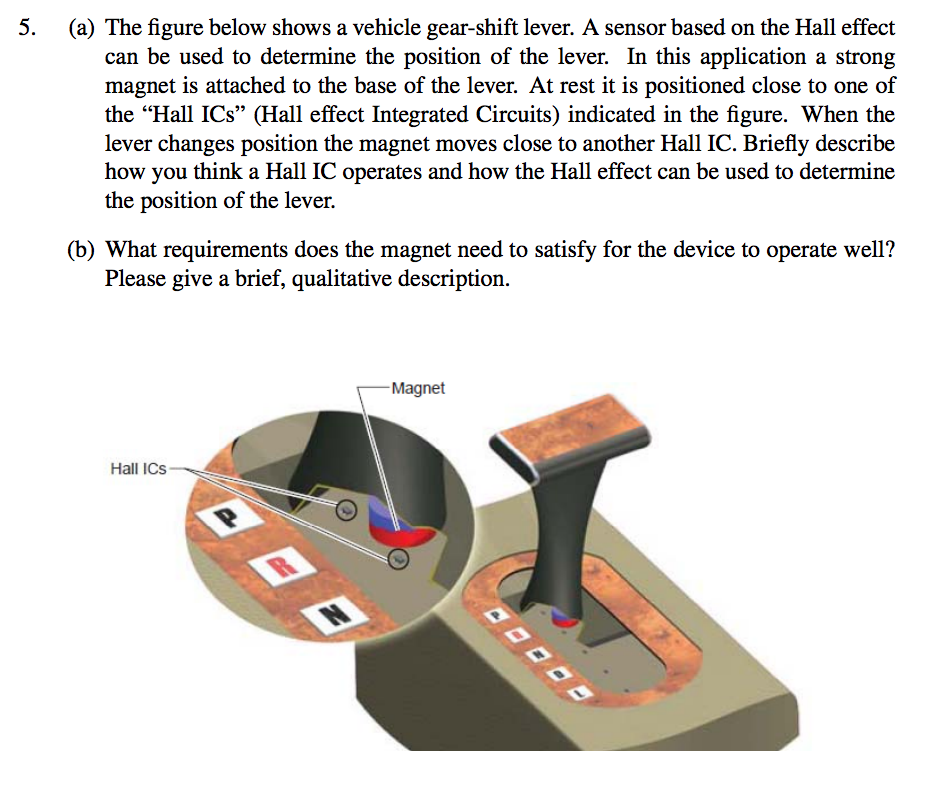 Solved: 5  (a) The Figure Below Shows A Vehicle Gear-shift