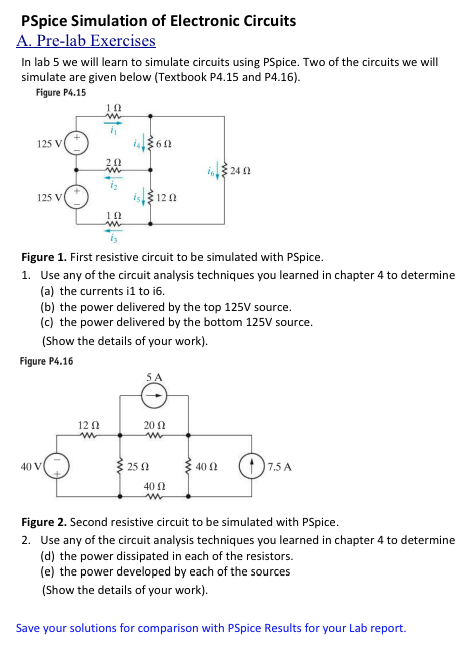 Solved: PSpice Simulation Of Electronic Circuits In Lab 5 ...