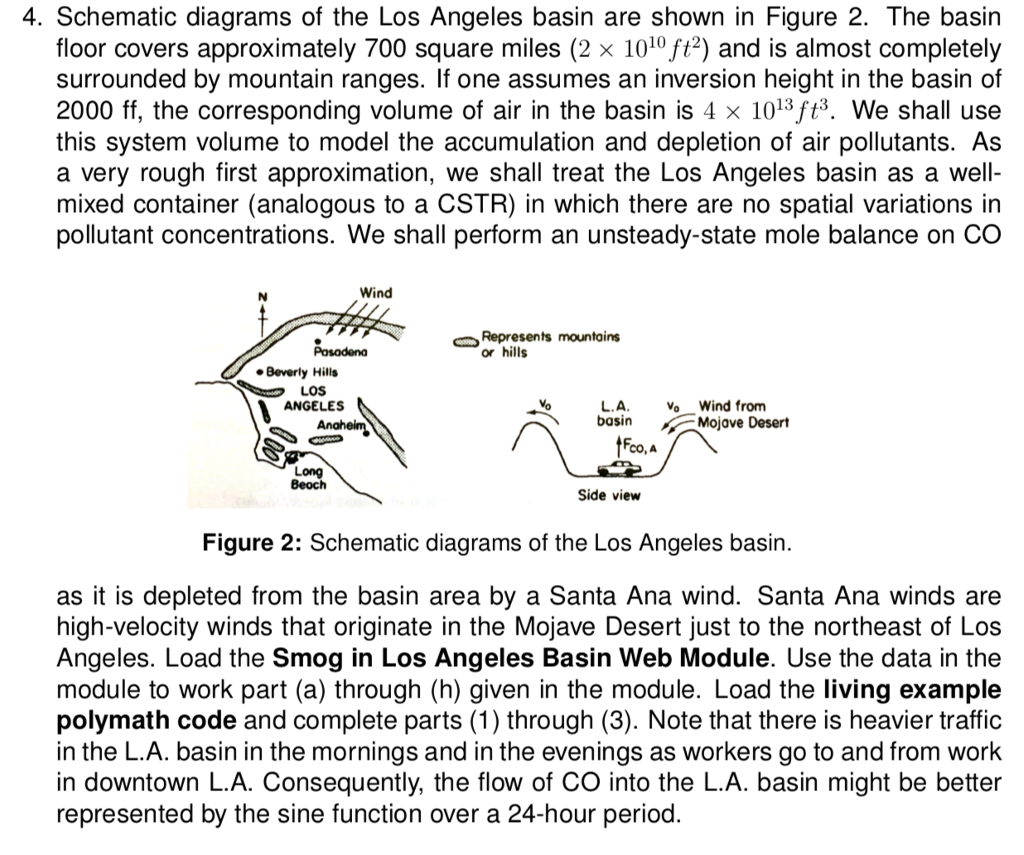 4 Schematic Diagrams Of The Los Angeles Basin Are What Shown In Figure 2