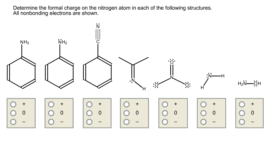 Solved determine the formal charge on the nitrogen atom i help with orgo hw determine the formal charge on the nitrogen atom i ccuart Image collections