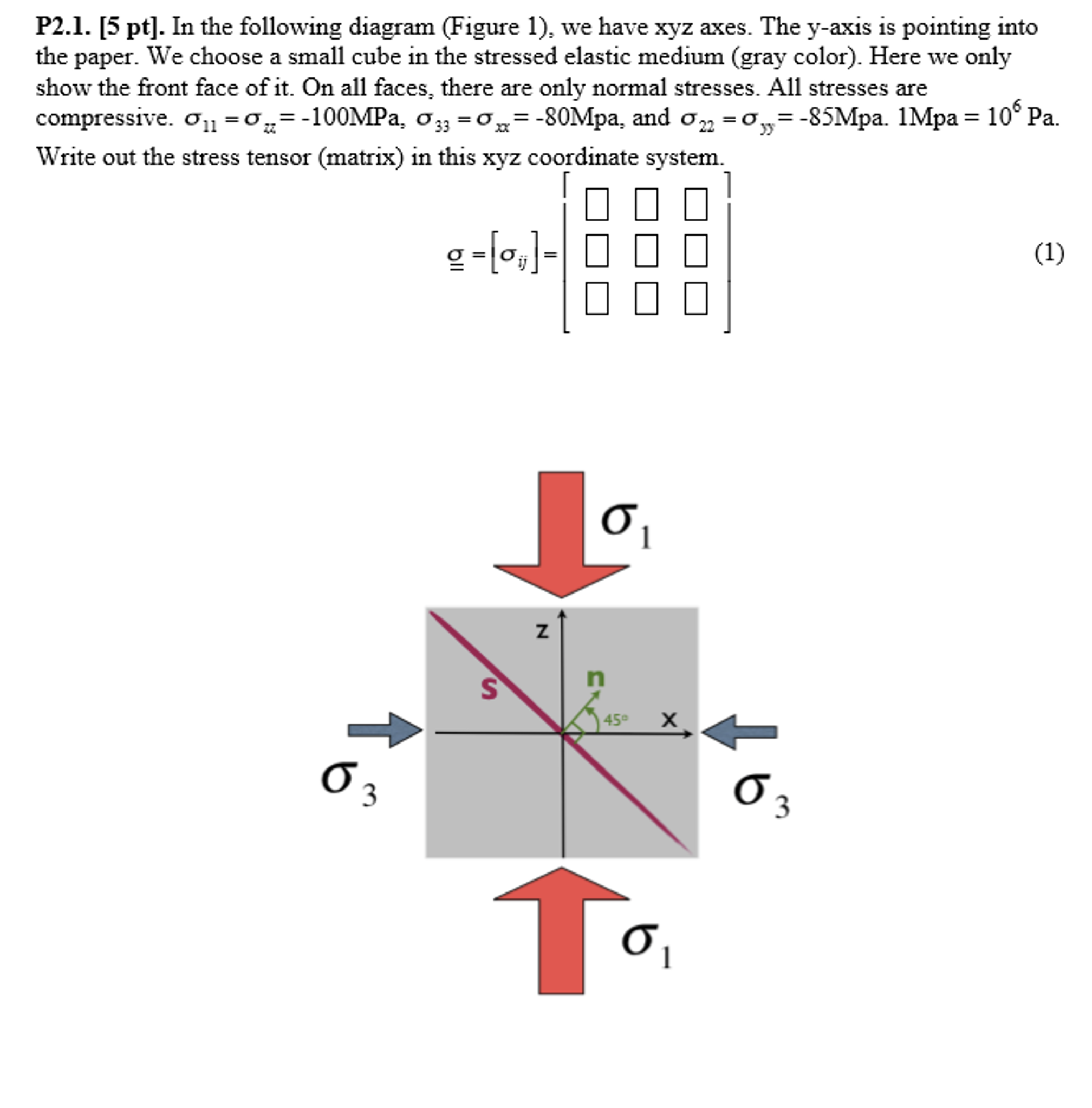 in the following diagram (figure 1), we have xyz a