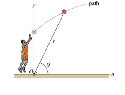 projectile motion in basketball