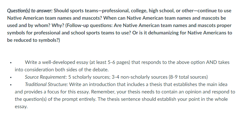 Questions To Answer Should Sports Teams Profess Chegg