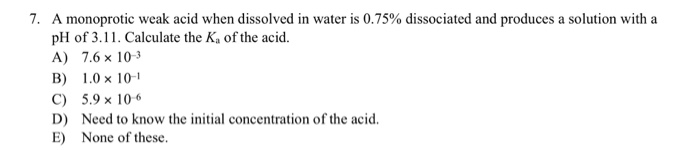 Solved: 1. Acids: A. Produce OH When Dissolved In Water. B
