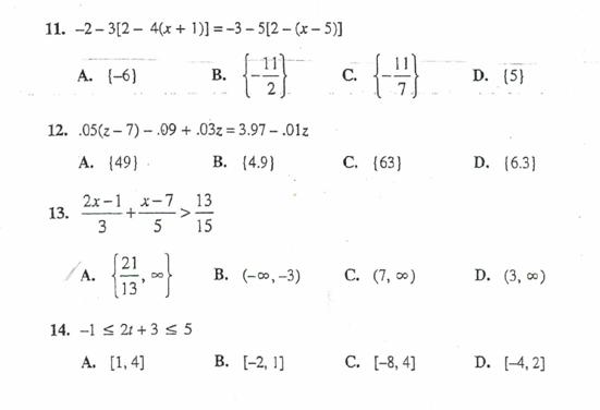 answer math homework problems
