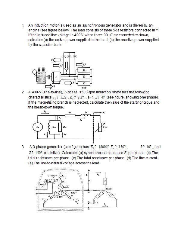 Explain the principle of working of a shaded-pole single phase induction motor