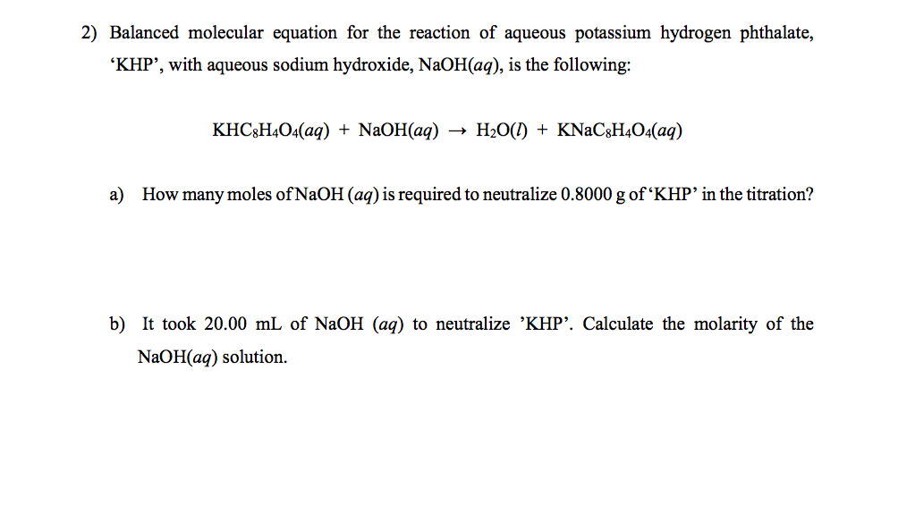 solubility equilibrium of potassium hydrogen tartrate essay Effects of hydrolysis on determining the solubility product of potassium bitartrate  equilibrium view:  the solubilities of potassium hydrogen tartrate (kht).