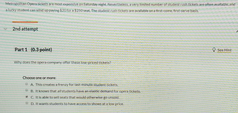 e61abab3727 Metropolitan Opera tickets are most expensive on Saturday night.  Nevertheless, a very limited number