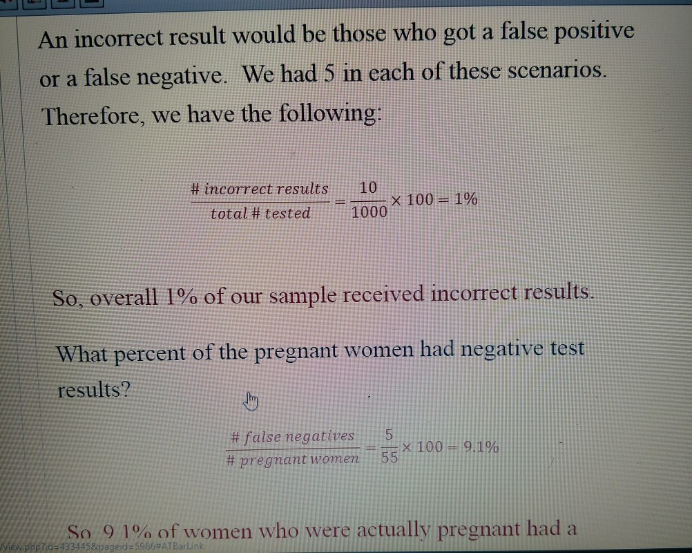 pregnancy test results positive paper