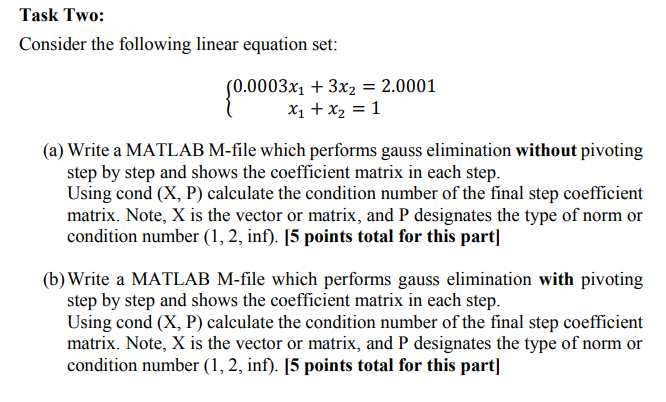 Solved: Using This Sample MATLAB Code I Have To Do The Fol