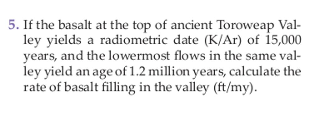 K-ar radiometrisk dating