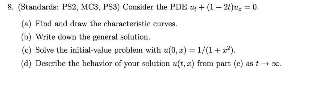 standards ps2 mc3 ps3 consider the pde uit