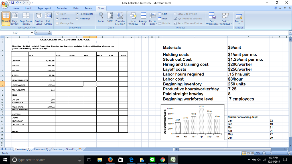 Solved: On Microsoft Excel: Prepare The Monthly Aggregate