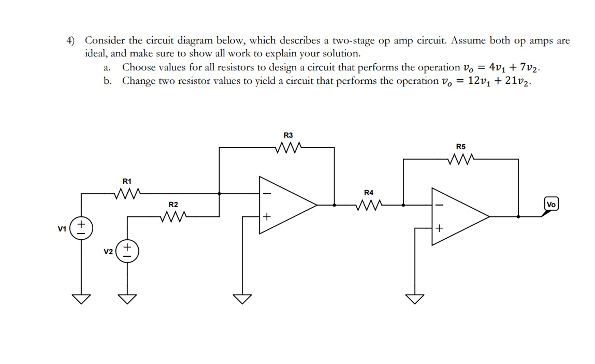 Awesome Solved Consider The Circuit Diagram Below Which Describe Wiring Cloud Venetbieswglorg